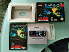 Flashback super Nintendo SNES PAL version