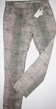 Nile Atelier Hose Collection Print Pants Chinos Long Taupe size: XL Neu