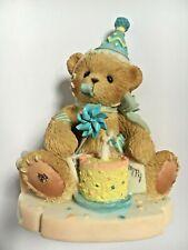 Very Rare Cherished Teddies 4001551 Mikeala Abbey Press Exclusive Birthday Nib 5