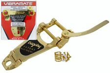 USA GOLD Bigsby B7G, Vibramate V7G Tremolo bar Fits Gibson or Epiphone Les Paul