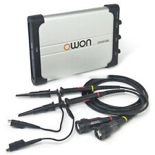 OWON VDS3102L 100MHz LAN Port USB PC Digital Storage Portable Oscilloscope 2+1ch
