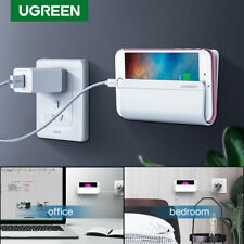 Ugreen Universal Wall Mount Phone Holder with Adhesive Strips Charging Stand
