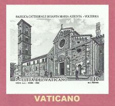 Vaticano 2020 BASILICA DI SANTA MARIA ASSUNTA - VOLTERRA Francobollo singolo