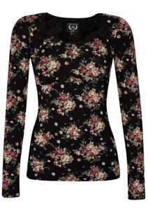 Vive Maria 🖤 True Romantic Longsleeve Shirt Gr. S 36