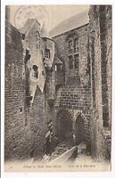 abbaye du mont-saint-michel,   cour de la merveille