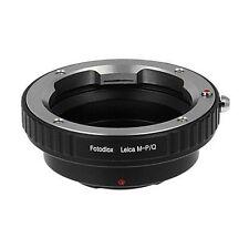 Fotodiox Objektivadapter Leica M auf Pentax Q Kamera