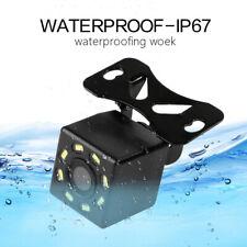 Car Rear View Backup Camera Parking Reverse Back Up Camera Waterproof CCD 8LED