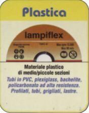 Disco taglio plastica  § 115mm x 1,60mm LAMPIFLEX per smerigliatrice flessibile