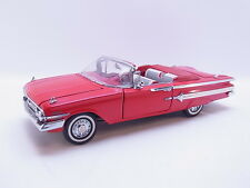 Lot 38965 Franklin Mint 1:24 Chevrolet Impala 1960 Convertible Cabriolet NEUF