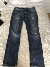 Victoria Beckham Skinny Mid Blue Jeans Size 25