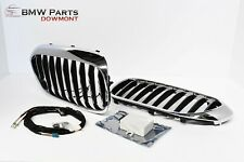 BMW G30 G31 F90 5 SERIES LUXURY CHROME ICONIC GLOW GRILLE MODULE WIRES 2470911