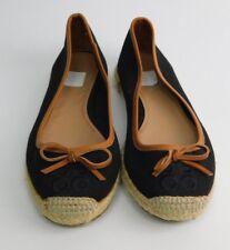 NEW Coach Size 5 Black Bow Flat Espadrilles Shoes