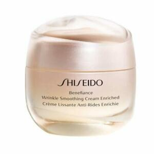 Shiseido Benefiance Wrinkle Smoothing Cream Enriched 50ml 1.7oz Not In Box