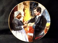 """GONE WITH THE WIND COLLECTORS PLATE """" A TOAST TO BONNIE"""""""