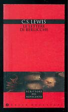 LEWIS C. S. LE LETTERE DI BERLICCHE MONDADORI 1996 OSCAR NARRATIVA 776