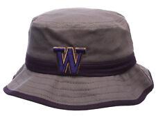 sale retailer aa4fa 6402a WASHINGTON HUSKIES NCAA THUNDERHEAD GRAY BUCKET Z CAP HAT NWT! SIZE  ADULT  LARGE