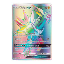 Dialga GX Full Art SECRET RARE Holo SM Ultra Prism 164/156 (Proxy | Flash Card)