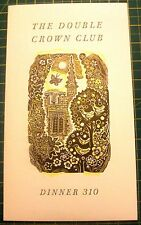 JOHN O'CONNOR WOOD ENGRAVINGS 1991 - DOUBLE CROWN CLUB - TYPOGRAPHY