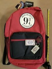 Harry Potter Hogwarts Express Train Backpack Nwt Plus Key Chain