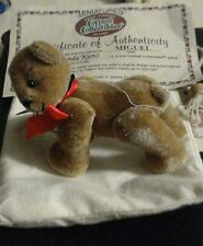 2.5 x2.5 INCHES FULLY JOINTED LIGHT BROWN BEAR MIGUEL BY LYNDA KUNZ FOR GANZ