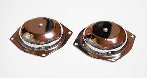 2x Deckel Membran Vergaser cover cap Carburetor Honda CB 250 K, K0 - K4, 350 K