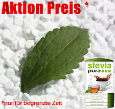2500 Premium Stevia Tabs Süßstoff zuckerfrei 150g Deutscher Hersteller + Spender