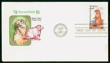Mayfairstamps Us Fdc 1987 Black Tailed Prairie Dog First Day Cover Wild Animal w