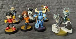 Super Smash Brothers Amiibo Series Lot Nintendo - Loose Figures - You Pick!