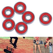 Abec-9 Skateboard longboard 608Rs 608Zz skate roller hocker wheel steel beari Jc