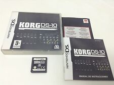 KORG DS-10 SYNTHESIZER . Pal España ..Envio Certificado ..Paypal