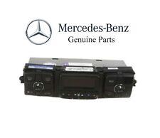 For Mercedes C215 CL500 W220 S430 S600 Dash AC Heater Control Unit Panel Genuine