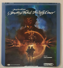Ray Bradbury's Something Wicked This Way Comes CED RCA Selectavision VideoDisc