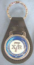 Vintage Blue Mercury XR7 COUGAR Leather Keyring Key Fob 1971 1972 1973 1974 1975