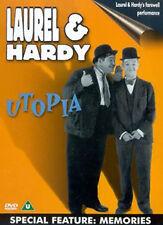 LAUREL AND HARDY - UTOPIA / MEMORIES - DVD - REGION 2 UK