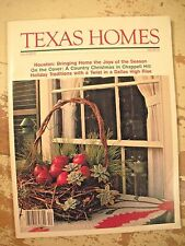 TEXAS HOMES MAGAZINE  December 1983  Country Christmas In Chappel Hill