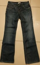 Tommy Hilfiger Sally dark Blue Glazed Stretch Low Rise Bootcut Jeans W28 L32