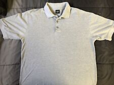 All Brand Polo Light Grey Sz Large L Men's