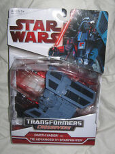 Star Wars Transformers Darth Vader to TIE Advanced X1 Starfighter 2009 BRAND NEW