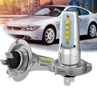 2X H7 CREE Headlight LED CREE 8SMD 40W Car Hi or Low Beam Bulbs Conversion Kit