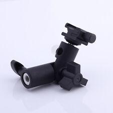 Swivel Flash hot shoe umbrella holder for studio light stand bracket type E-III