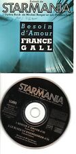 FRANCE GALL RARE CD BESOIN D AMOUR