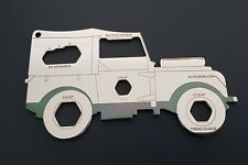 "Land Rover Series One 80"" Multi Tool, Keyring, Gift."