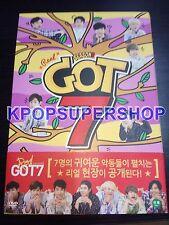 GOT7 - Real GOT7 Season 3 - 4 DVD Set Photocards Korea Version Good Condition