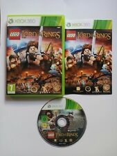 LEGO THE LORD OF THE RINGS XBOX 360 GAME PAL COMPLETE WITH MANUAL