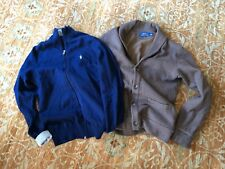 2 Mens Polo Ralph Lauren Cardigans - size XS / S