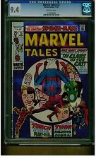 MARVEL TALES #23 CGC 9.4 NEAR MINT 1969 THOR HUMAN TORCH OFF WHITE PAGES MARVEL