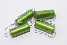 4x ERO MKT 1813 High-End Audio-Kondensator, 10 µF / 63 V, für Tube Amps, NOS