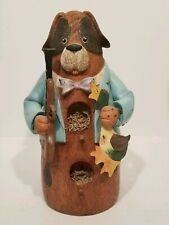 Resin Birdhouse - Hound Hunting Dog and Duck Decor