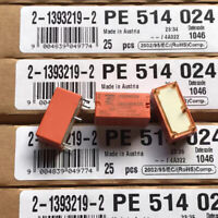PE514024 Electromechanical Relay 24VDC 2.725KOhm 5A 5 Pins PCB Relay (Pack of 2)