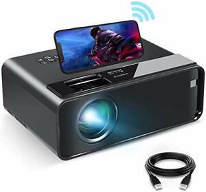 WiFi und Kabel Full HD Beamer mit integriertem Lautsprecher, breite Verwendung Kompatibilität